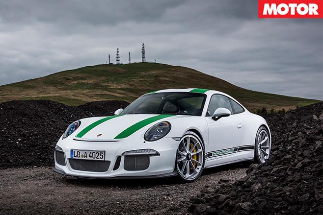 Porsche 911 R still