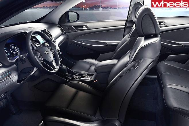 Hyundai -Tucson -interior