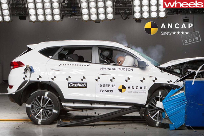 Hyundai -Tucson -car -ANCAP-crash -test
