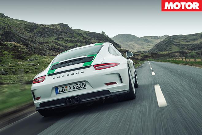 Porsche 911 R rear