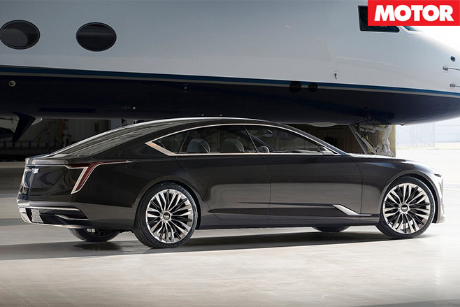 Cadillac Escala Concept rear side