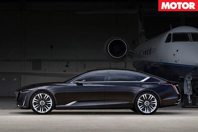Cadillac Escala Concept side
