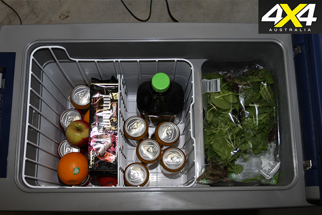 Arb fridge interior