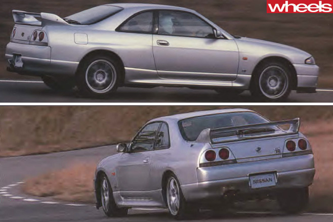 1995-Nissan -Skyline -GT-R-side -rear