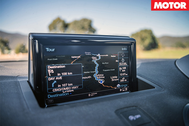 Audi s1 gps display