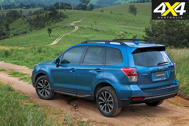 2016 Subaru Forester rear