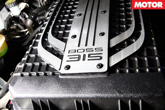 Herrod FPV GS Ute Boss 315 engine