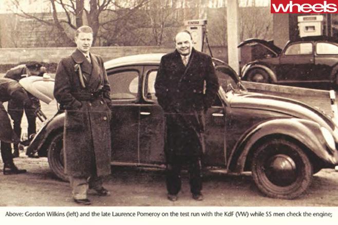 Volkswagen -beetle -being -repaired