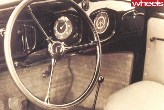 Volkswagen -Beetle -interior