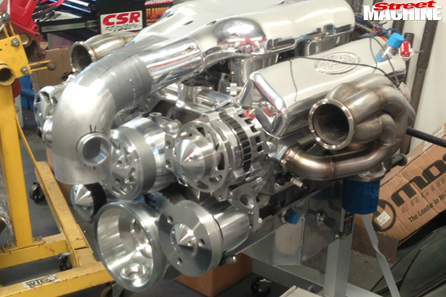 Camaro -engine