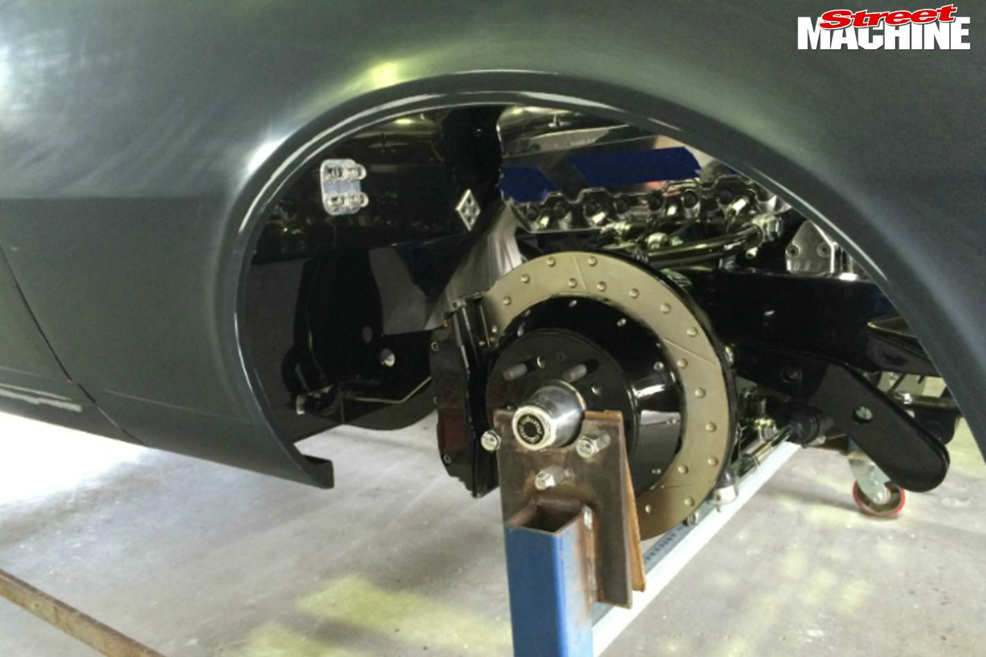 Camaro -brakes