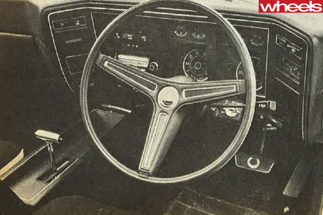 1974-Ford -Falcon -GT351-interior