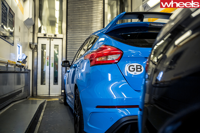 2016-Ford -Focus -RS-rear -spoiler