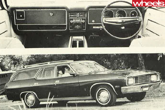1975-Ford -Falcon -XC-interior