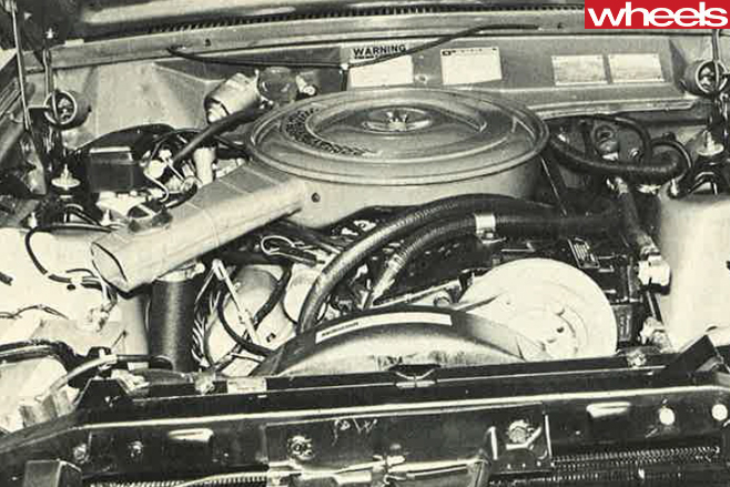 1975-Ford -Falcon -XC-engine