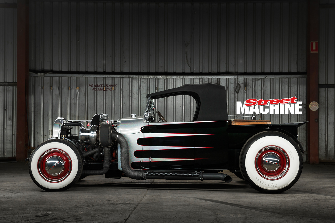 29 Ford Roadster Pick Up Big Block Turbo 2
