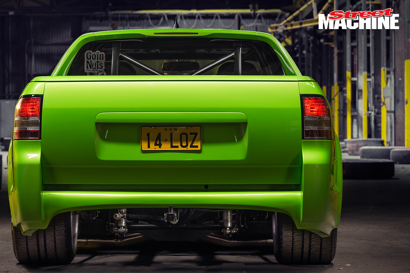 Holden VE Ute Blown LS 6