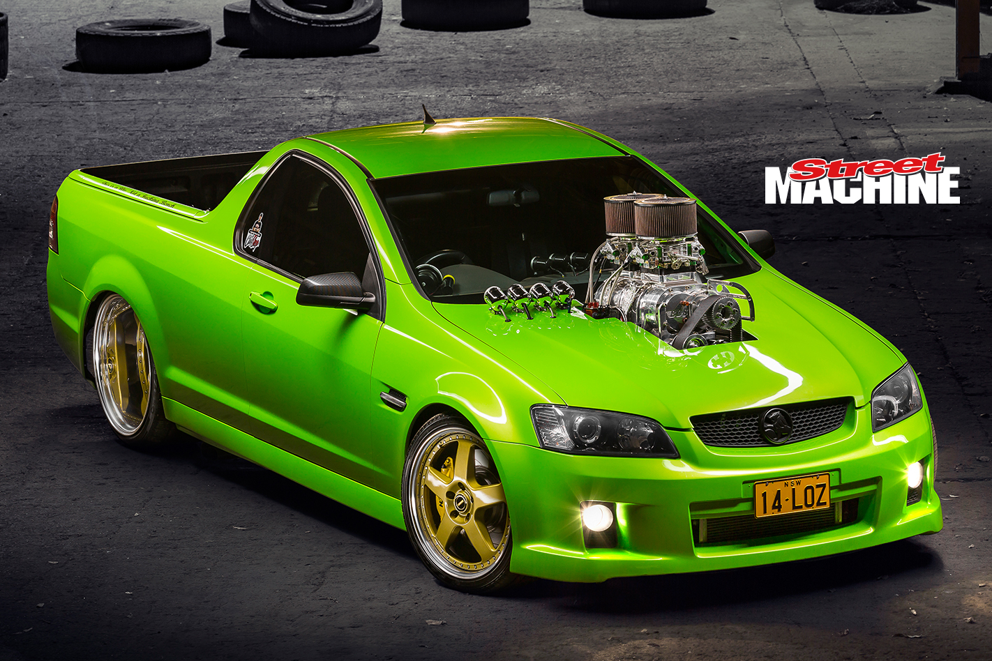 Holden VE Ute Blown LS 7