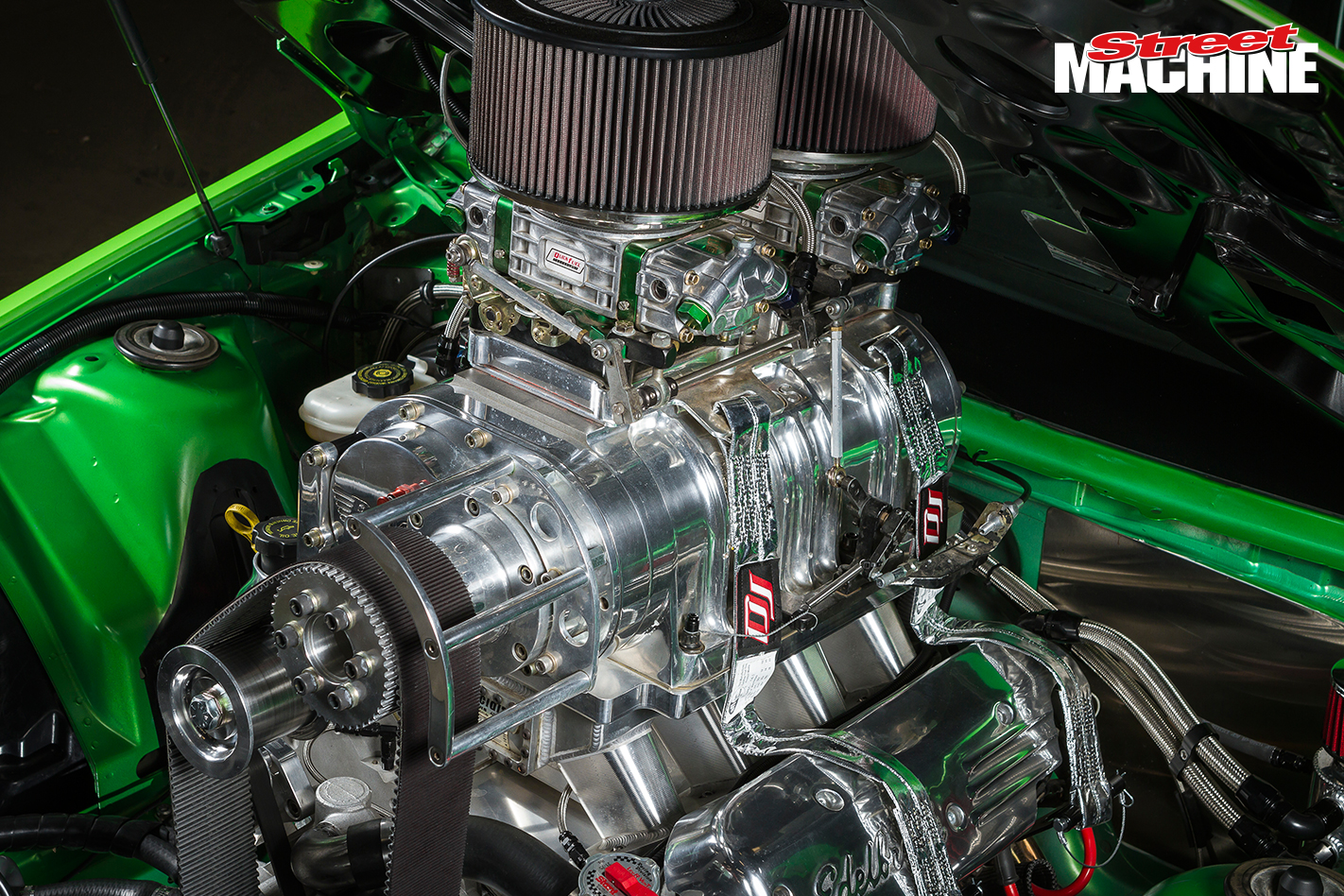 Holden VE Ute Blown LS Engine 2