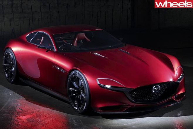 Mazda -RX-Vision -side -front