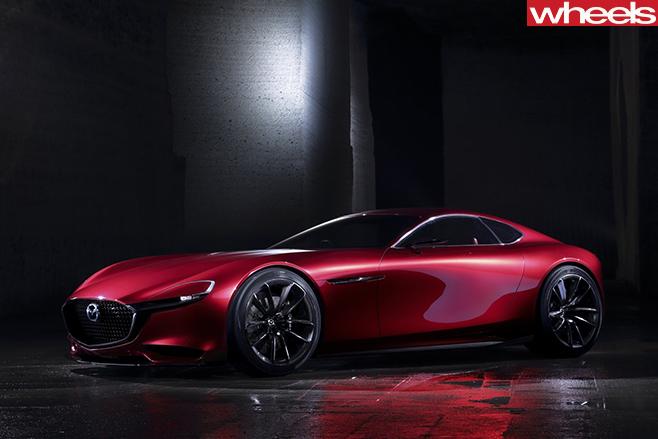 Mazda -rx -vision -concept --front .side