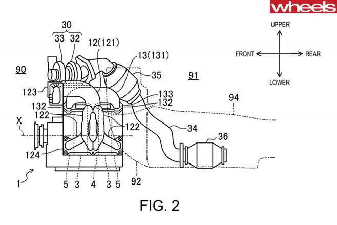 Mazda -RX-rotary -patent