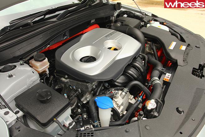 Kia -Optima -engine
