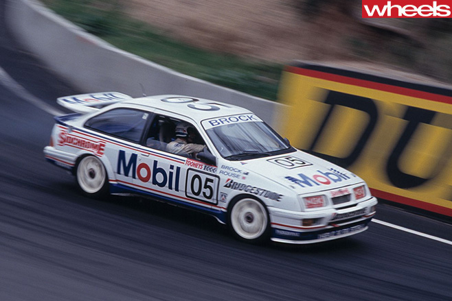 Brock -Ford -Sierra -racing
