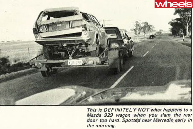 Mazda -929-crash