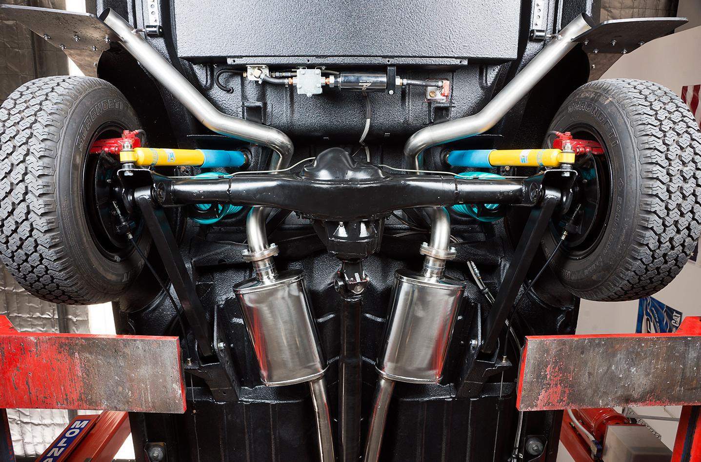Bash -Holden -Statesman -underside -rear