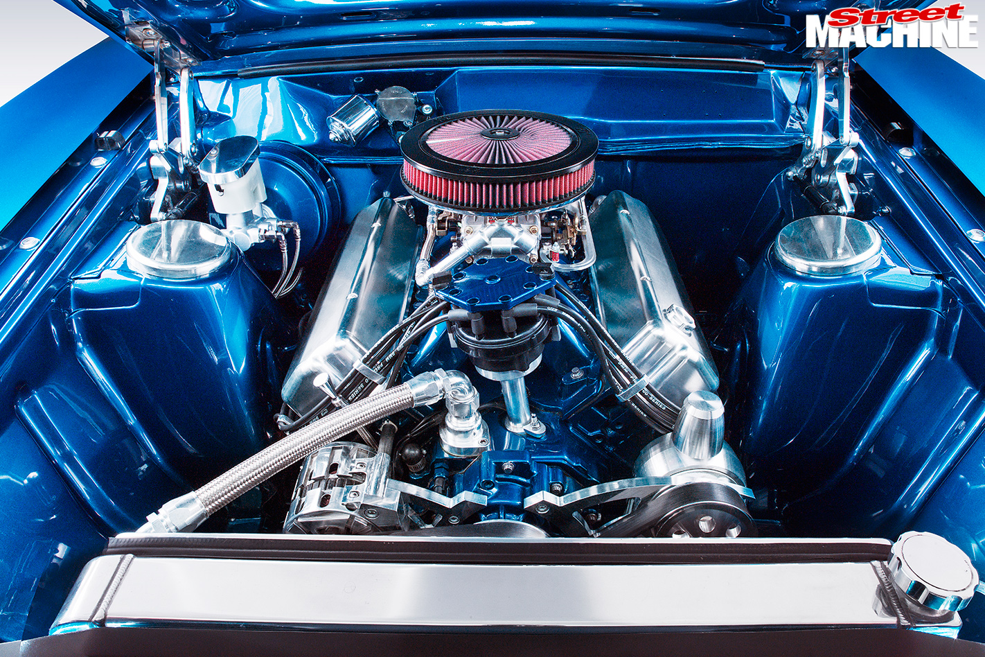 Ford -XB-Falcon -Fairmont -GS-engine -bay