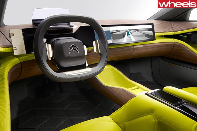 Citroen -CXperience -interior