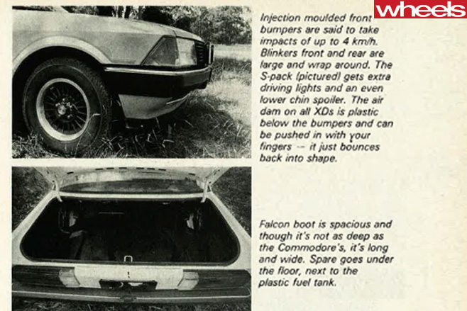 1979-Ford -Falcon -bumpers -and -boot