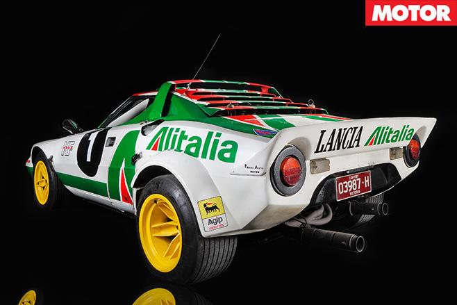 1972-Lancia Stratos rear