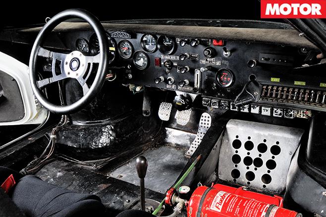 1972 Lancia Stratos interior