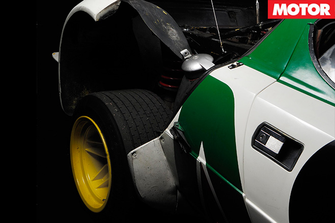 1972 Lancia Stratos rear wheel