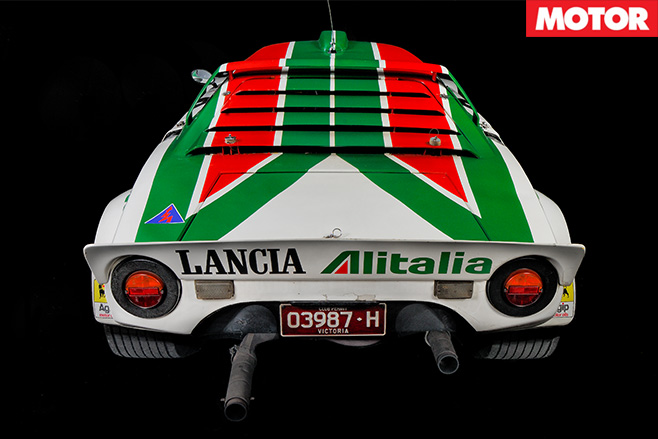 1972-Lancia Stratos rear -back