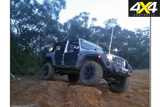 JK Jeep Wrangler Unlimited Sport side