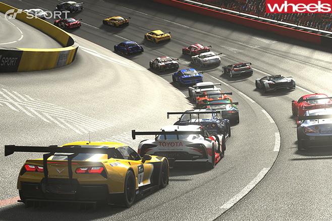Cars -racing -GT-Sport