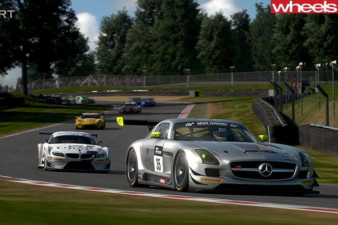 Mercedes -AMG-GT-racing -track -GT-Sport