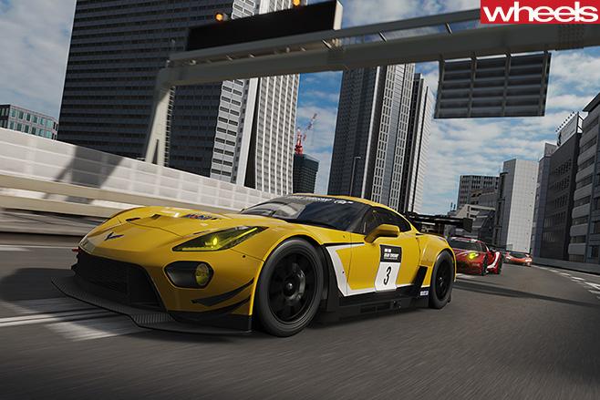 Chevrolet -Corvette -GT-Sport