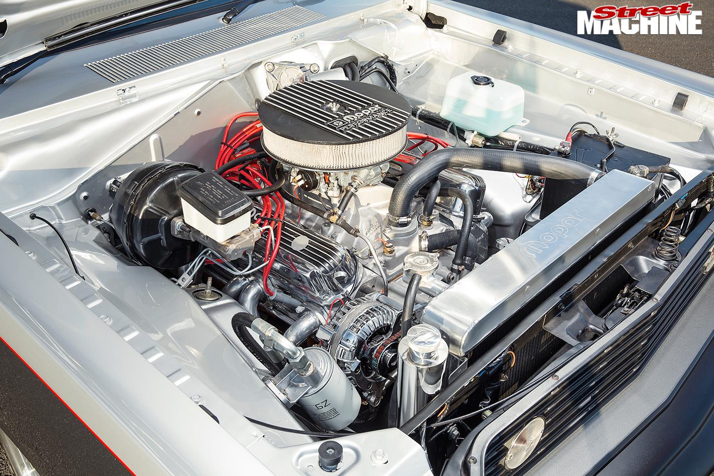 Chrysler -Valiant -VF-engine -bay