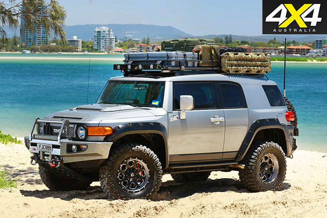 Modified Toyota FJ Cruiser side