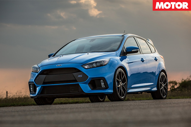 Hennessey Ford Focus RS front