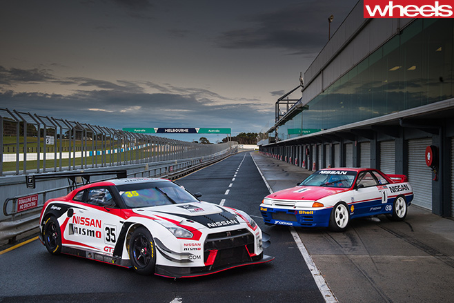 Nismo -GT-R-with -classic -Nissan -Skyline -GT-R
