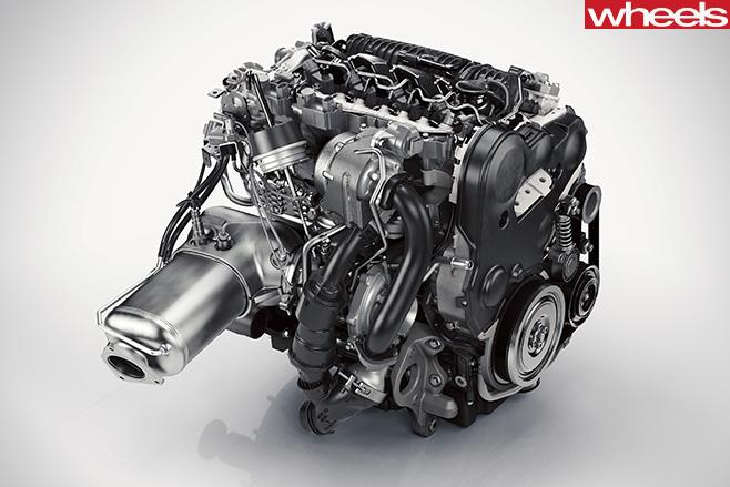 Volvo -XC90-4-cylinder -diesel
