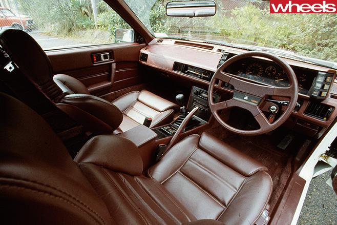 Mitsubishi -Starion -interior