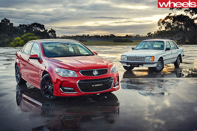 Holden -Commodores -at -proving -ground