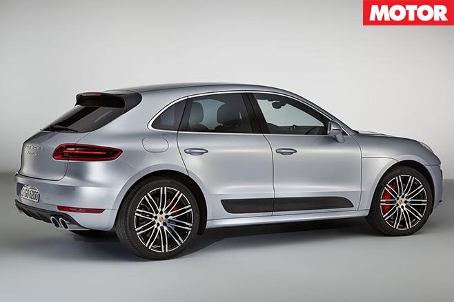 Porsche Macan Turbo side