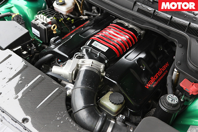 Walkinshaw supercharged engine